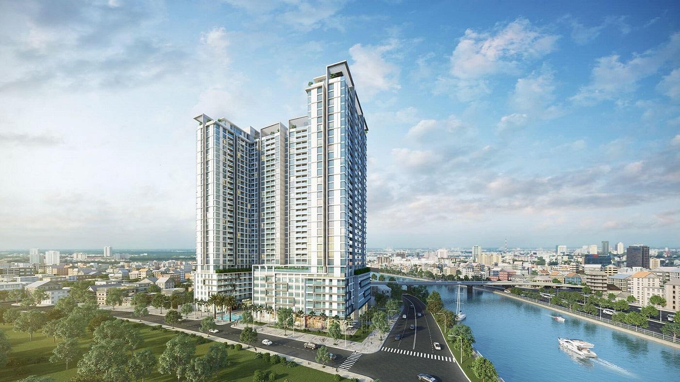 Phối cảnh tổng thể dự án căn hộ Millennium quận 4.