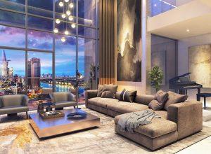 Bán căn hộ Penthouse đẳng cấp tại dự án Master Millennium quận 4.