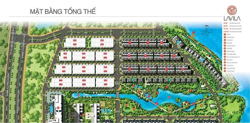 Phối cảnh tổng thể dự án Lavila Kiến Á tại Nam Sài Gòn.