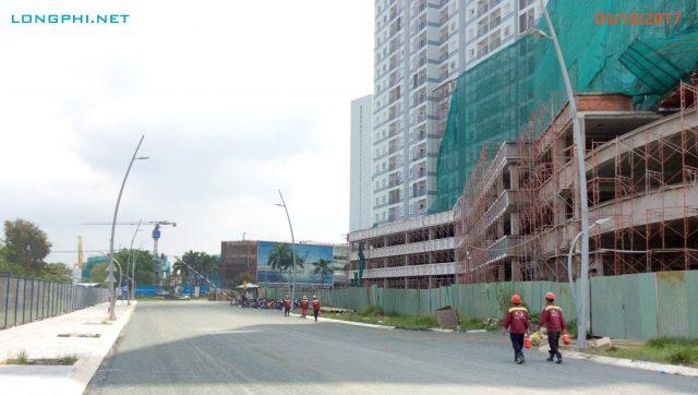 Cập nhật tiến độ thi công Jamona Apartment - Luxury Home ngày 3/10/2017.