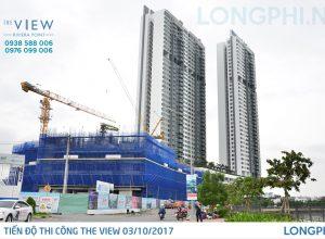 Cập nhật tiến độ thi công căn hộ The View tại dự án Riviera Point quận 7.