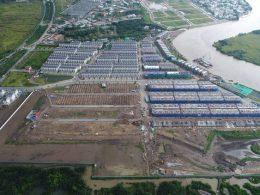 Dự án Lavila Nam Sài Gòn có vị trí gần trung tâm thành phố với không gian sống trong lành.