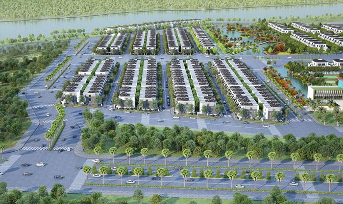 Dự án Lavila giai đoạn 2 đồng bộ với giai đoạn 1 cùng hệ thống hạ tầng và tiện ích.