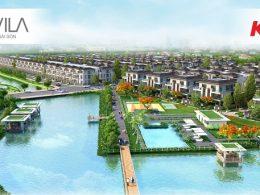 Phối cảnh dự án Lavila của Kiến Á tại Nam Sài Gòn.