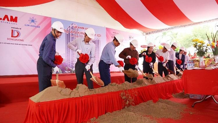 Nhiều đối tác lớn tham gia phát triển dự án: Hoa Lâm Corporation, Vietbank, CotecCons, FQM, Vertical Studio.
