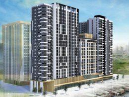 Phối cảnh dự án Capitaland vừa mua tại Quận 4 với giá 38 triệu USD.