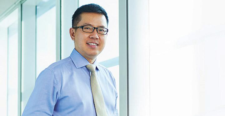 CEO - Giám đốc điều hành của Keppel Land, ông Ang Wee Gee.