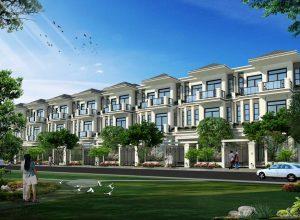 Mẫu nhà trong dự án The Green star Nguyễn Lương Bằng quận 7.