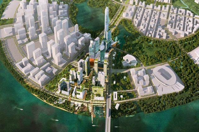 Dự án Empire City Thủ Thiêm (Thành Phố Đế Vương) là một trong các dự án mà Keppel Land phát triển tại TP.HCM.