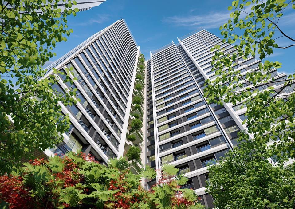 Chú trọng vào mảng xanh, Kingdom 101 tập trung xây dựng môi trương sống cho cư dân.