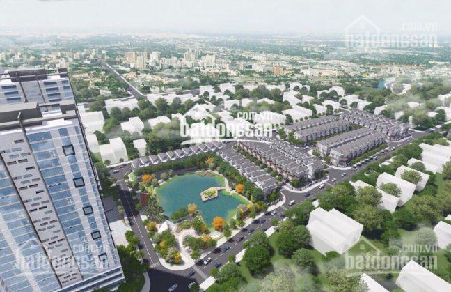 Phối cảnh tổng thể dự án The green Star quận 7 của Hưng Lộc Phát.