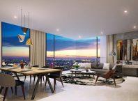 Các căn hộ Kingdom 101 có tầm nhìn trải rộng, không bị chắn tầm nhìn.