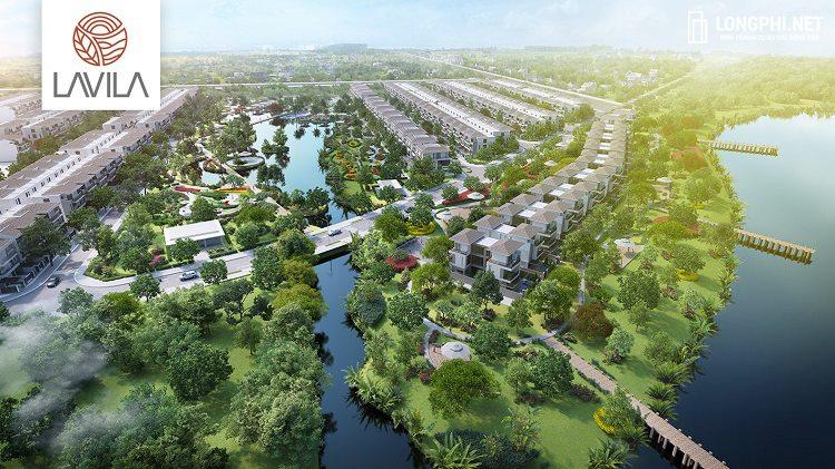Dự án biệt thự đơn lập Lavila De Rio Kiến Á là điểm nhấn về chất lượng tại Nam Sài Gòn.