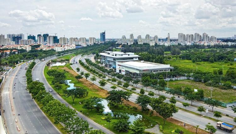 Năm 2018 khu Nam Sài Gòn đón nhận nhiều thông tin mới về triển khai xây dựng hạ tầng giao thông.