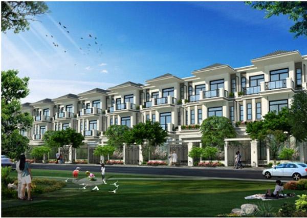 Nhà phố Hưng Phát Green star quận 7 ( dự án The Green Star quận 7 - Hưng Lộc Phát).