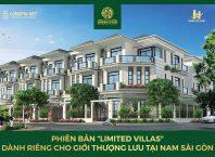 Phối cảnh biệt thự trong dự án Hưng Phát Green Star quận 7 của Chủ đầu tư Hưng Lộc Phát.