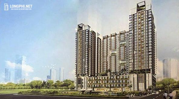 Phối cảnh tổng thể căn hộ Green Star Sky Garden quận 7 chủ đầu tư Hưng Lộc Phát.