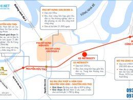 Với vị trí đắc địa, dự án khu đô thị GS Metrocity kết nối dễ dàng đến các khu vực và địa phương lân cận