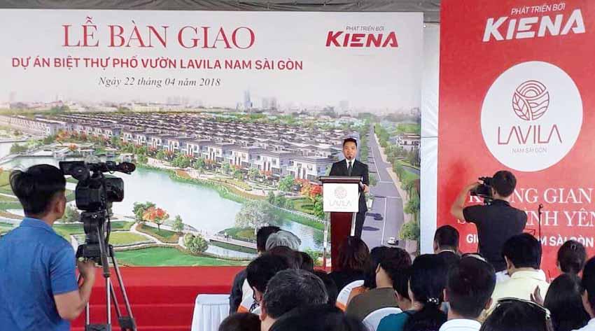 Dự án Lavila Nam Sài Gòn bàn giao nhà đến khách hàng mua giai đoạn 1.