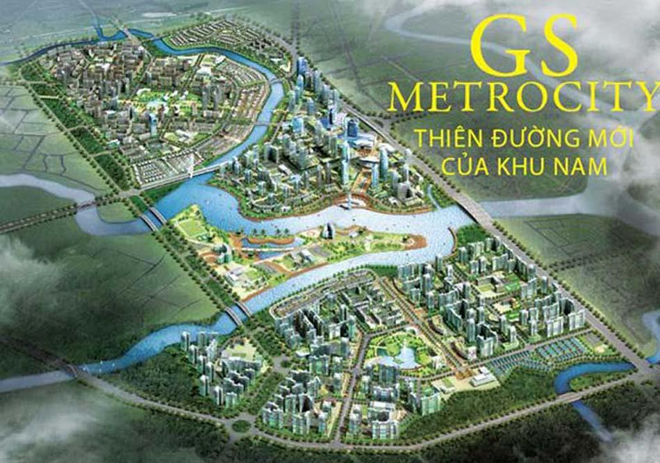 Phối cảnh dự án GS Metrocity khu đô thị mới Nam Sài Gòn.