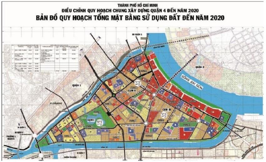 Quy hoạch quận 4: Nhiều công trình hạ tầng chiến lược được nghiên cứu triển khai.