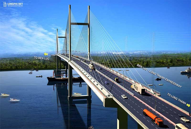 Cao tốc Bến Lức - Long Thành cách không quá xa dự án GS Metrocity.