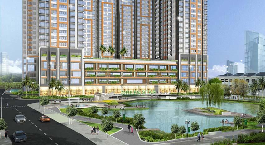 Căn hộ Green Star Sky Garden quận 7: Không gian xanh và mặt nước giúp cải thiện sức khỏe.
