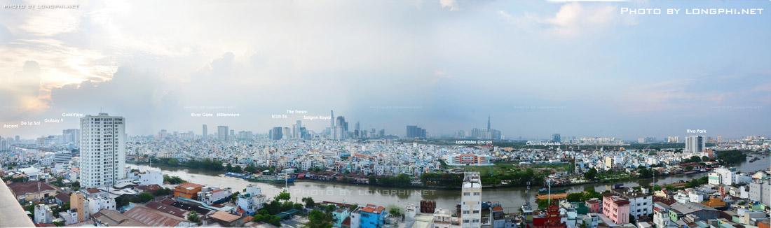 Nhiều chủ đầu tư chọn quận 4 là nơi phát triển dự án, thị trường nơi này trở nên sôi động hơn trong vài năm nay. Ảnh: Hoàng Long (LongPhi.net)