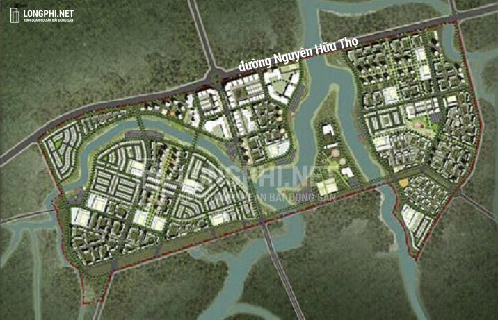 Mặt bằng tổng thể dự án GS Metrocity Nhà Bè