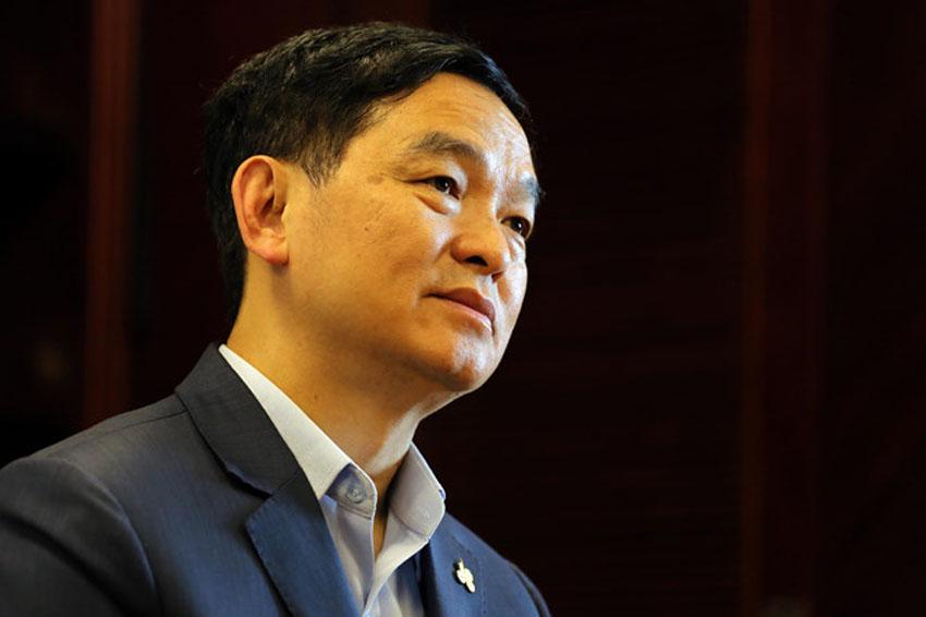 Doanh nhân Lê Viết Hải: mình phải đi nhanh, đi vững để cạnh tranh với các công ty quốc tế./