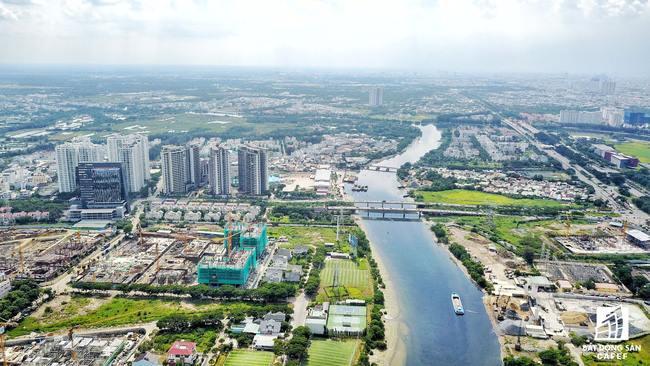 Khu Nam Sài Gòn được kỳ vọng sẽ có thay đổi ngoạn mục về hạ tầng.