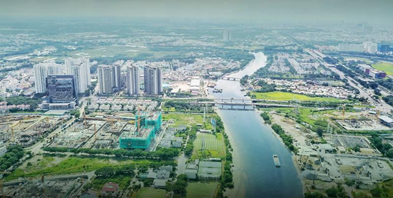 Hạ tầng nam Sài Gòn được kỳ vọng khởi sắc thay đổi bộ mặt cho khu vực này.