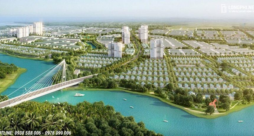 Phối cảnh một góc xanh tại dự án T&T Millennia City Long An.