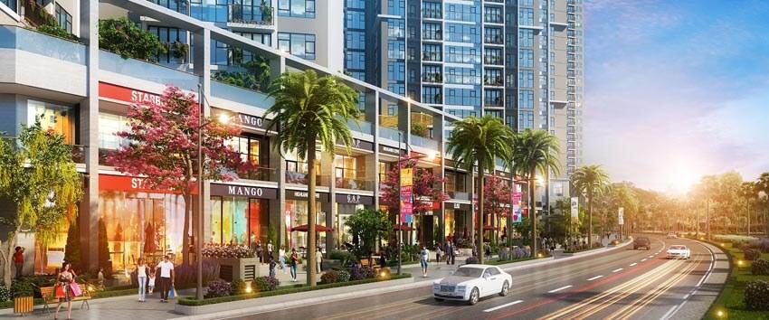 Dự án EcoGreen Saigon có tiện ích phong phú, đa dạng phục vụ cư dân.