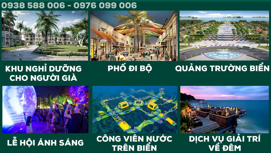 Các tiện ích nằm trong dự án Thanh Long Bay, Phan Thiết.