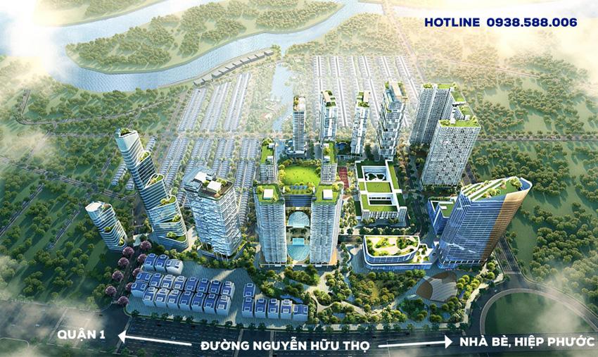 Dự án Lavila Nam Sài Gòn sở hữu nhiều lợi thế gia tăng giá trị trong tương lai.